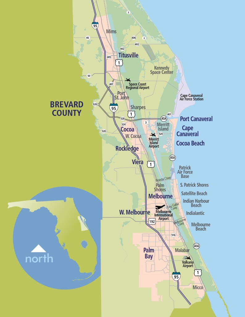 Accelerate Brevard About Us Accelerate Brevard - Brevward map of us